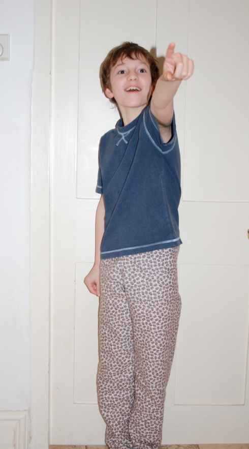 And lo, mama brought pyjamas from the North East